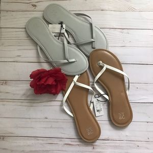 NEW YORK & COMPANY Flip-Flop Sandals -Bundle/9